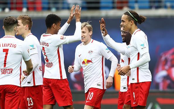 Лейпциг обеспечил себе место в Лиге чемпионов