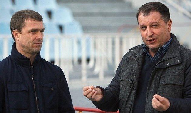 Сергей Ребров и Юрий Вернидуб. Фото - dynamo.kiev.ua