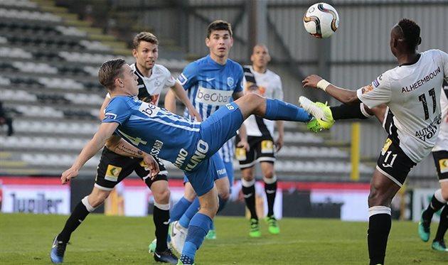 Украинец Малиновский забил красивый гол вчемпионате Бельгии