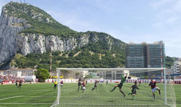 Стадион Виктория, Gibraltar Olive Press