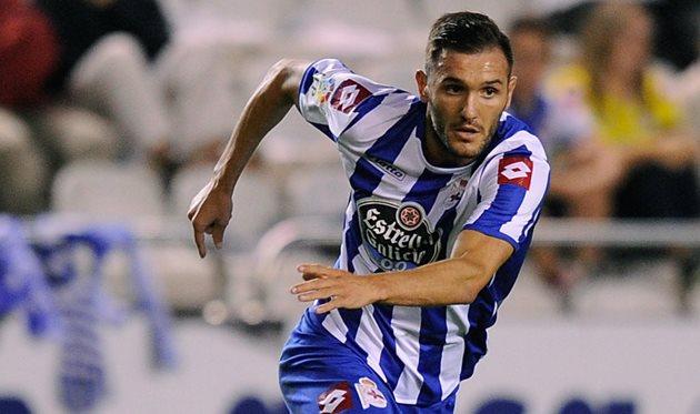 Лукас Перес в составе Депортиво, Getty Images