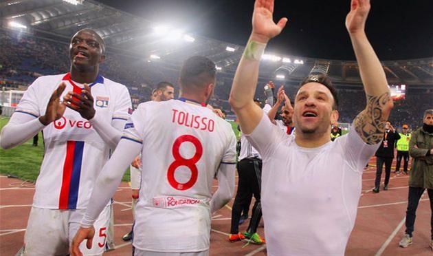 Лион добыл путевку в полуфинал Лиги Европы