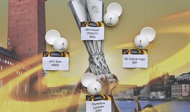 Стали известны пары 1/2 финала Лиги Европы