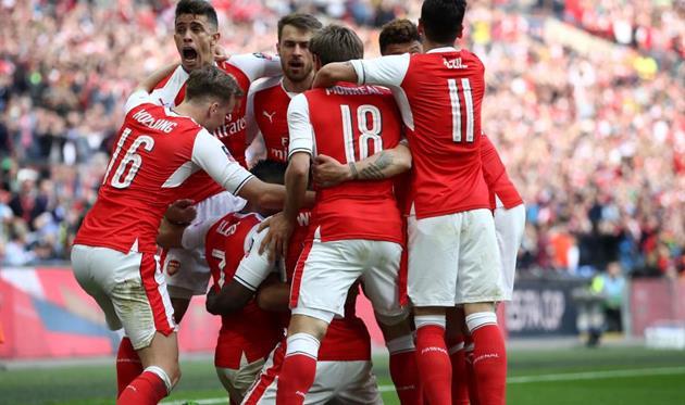 Арсенал в овертайме добыл победу над Ман Сити