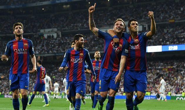 Барселона вырвала победу у Реала
