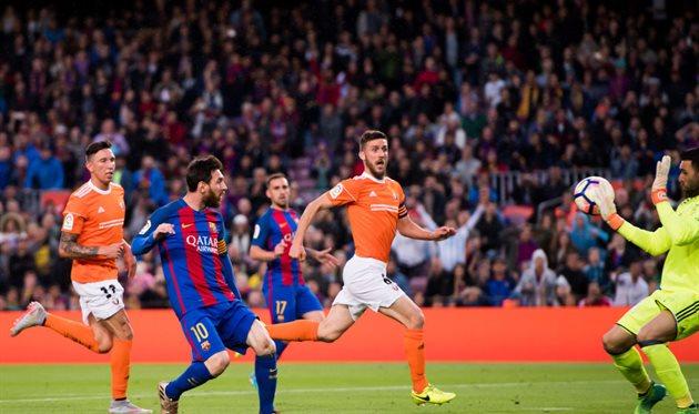 Барселона уничтожила Осасуну