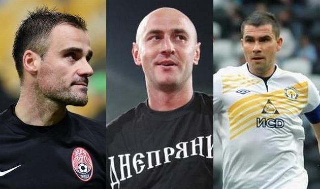 Три самых возрастных футболиста сезона 2016/2017