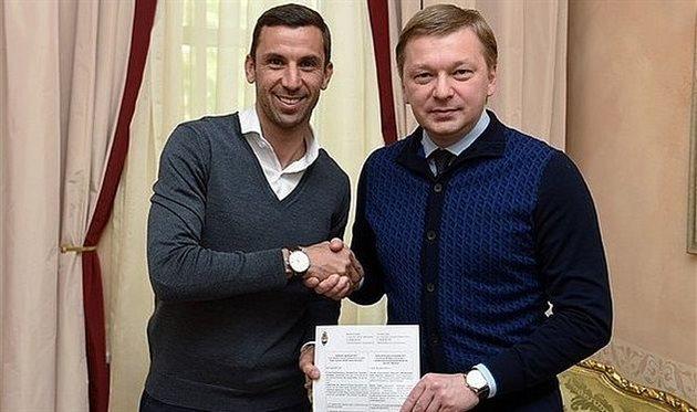 Срна подписал новый контракт с Шахтёром