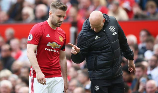 Люк Шоу вданном сезоне больше не несомненно поможет «Манчестер Юнайтед»