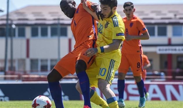 Сборная Украины U-17 проиграла 1-ый матч Евро