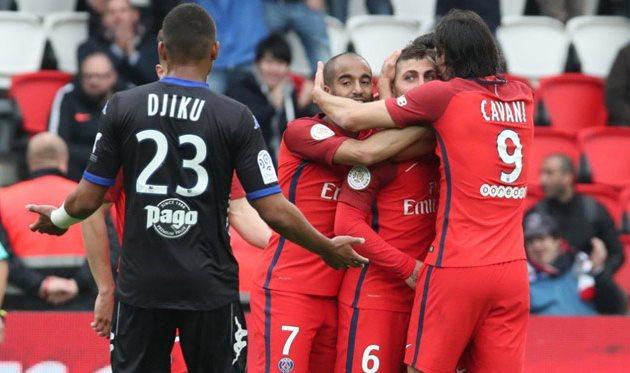 «ПСЖ» разгромил «Бастию» срезультатом 5-0 идогнал «Монако»