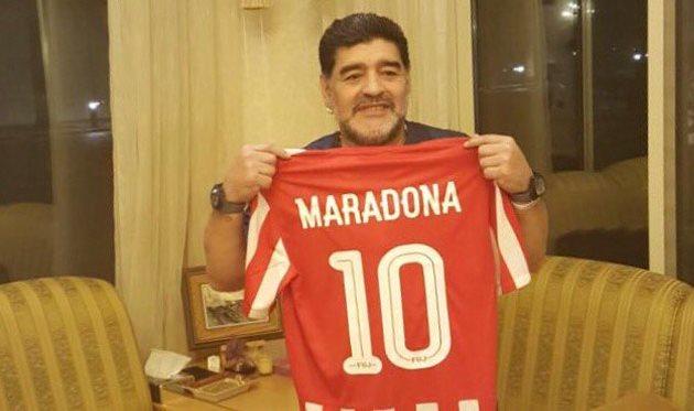 Марадона отыскал работу вовтором дивизионе чемпионата ОАЭ