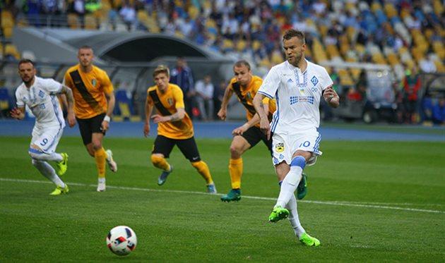 Динамо Киев разгромило Александрию
