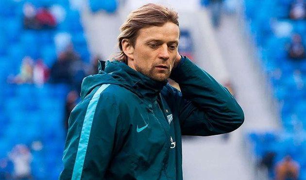 Экс-капитан сборной Украины Тимощук сгеоргиевской лентой «засветился» вПитере