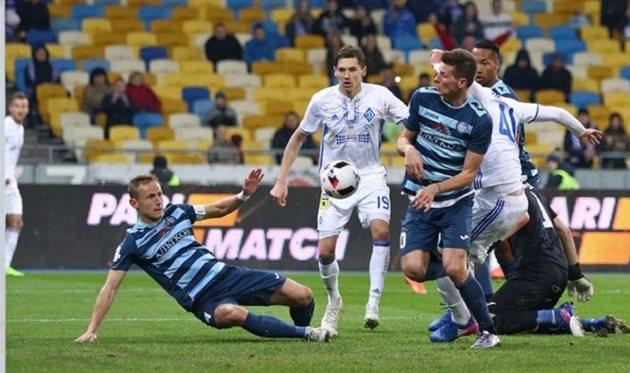 Олимпик переиграл Динамо Киев