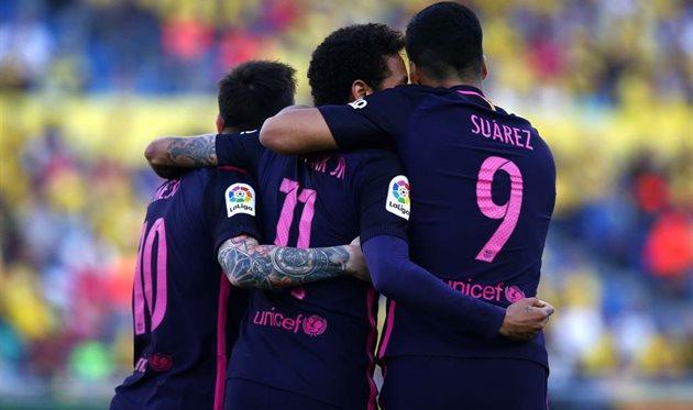Барселона разгромила Лас Пальмас