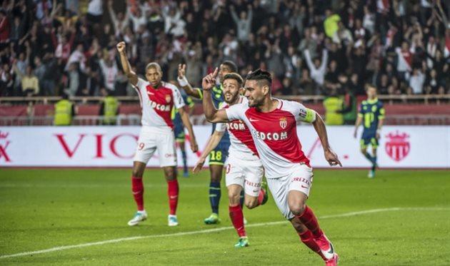 «Монако» победил «Сент-Этьен» и преждевременно стал чемпионом Франции пофутболу
