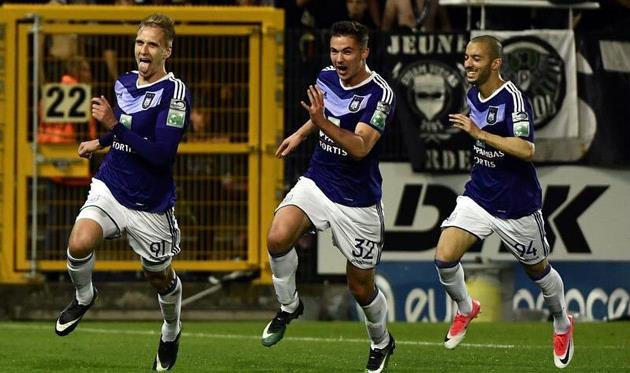 Футболисты «Андерлехта» обыграли «Шарлеруа» ив34-й раз выиграли чемпионат Бельгии