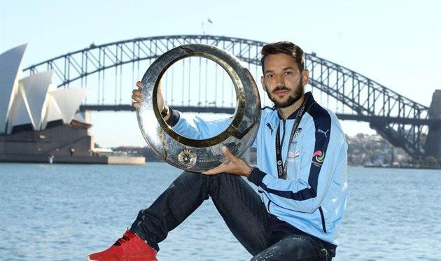 Милош Нинкович - лучший футболист в Австралии, Getty Images