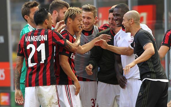 Милан застолбил место в Лиге Европы