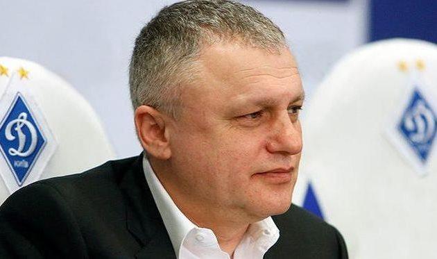 Президент киевского «Динамо» озвучит решение поРеброву до30мая