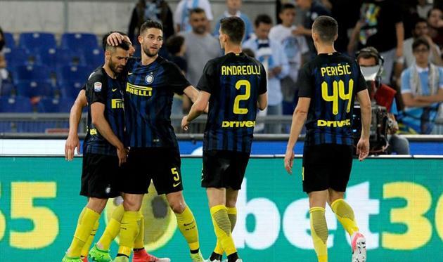Интер обыграл Лацио в Риме