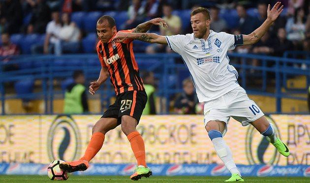 ФК «Динамо» (Киев) обыграл «Черноморец» в заключительном туре чемпионата Украинского государства