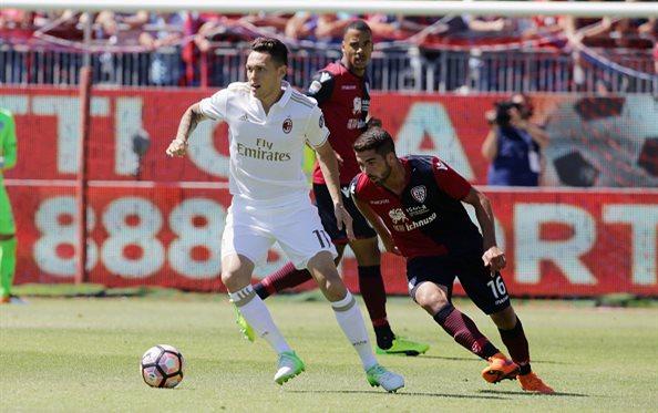 Милан завершил чемпионат поражением на Сардинии