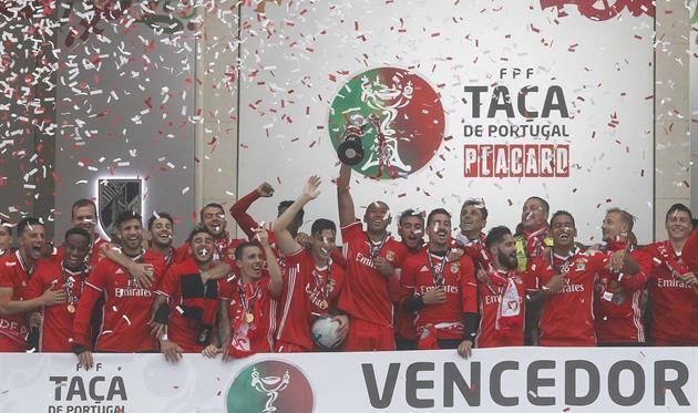 Бенфика выиграла Кубок страны, twitter.com/slbenfica