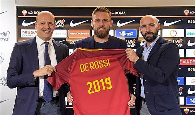 Де Росси подписал новый контракт с Ромой