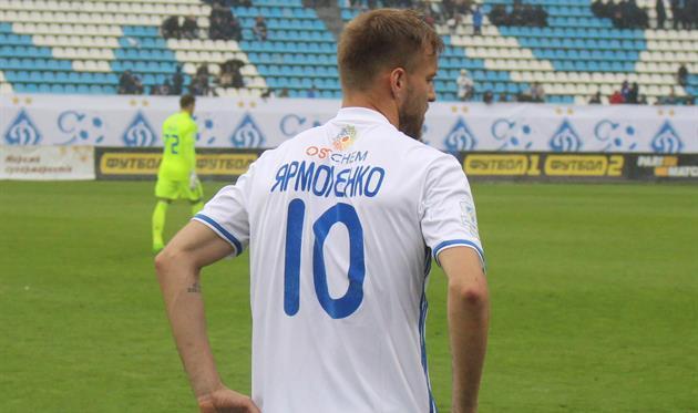 Впервый раз засемь лет игрок «Динамо» стал лучшим снайпером чемпионата Украинского государства