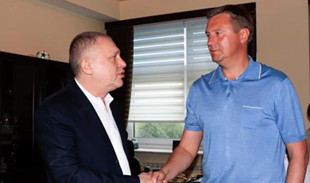 Хацкевич— новый тренер Динамо