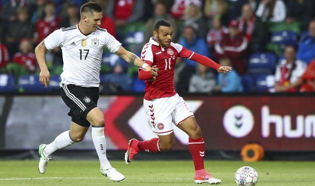 Германия спасла ничью с Данией