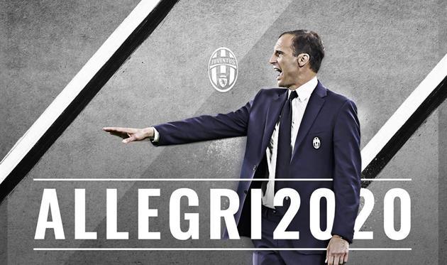 Аллегри продлил контракт с Ювентусом до 2020 года