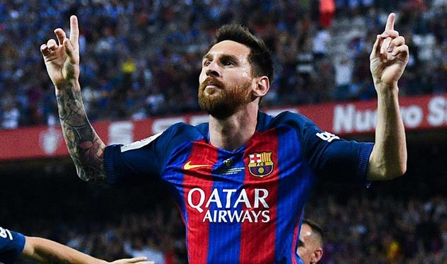 Месси согласовал новый контракт с Барселоной