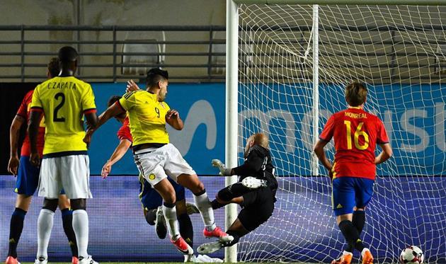 Колумбия 1:2 онлайн-трансляция матча