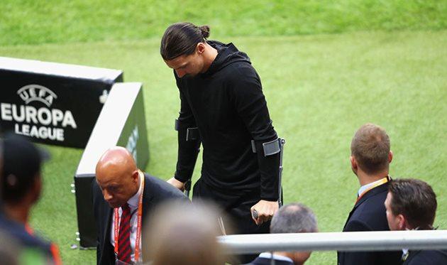 «Манчестер Юнайтед» расстался сИбрагимовичем