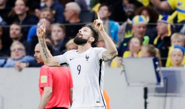 Сборная Швеции сыграет сФранцией врамках отбора кЧМ