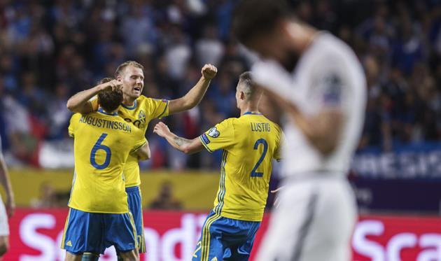 Швеция — Франция 2:1 Видео голов и обзор матча отбора на ЧМ-2018
