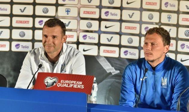 Шевченко: Мы приехали в Финляндию за победой, все ребята настроены на это