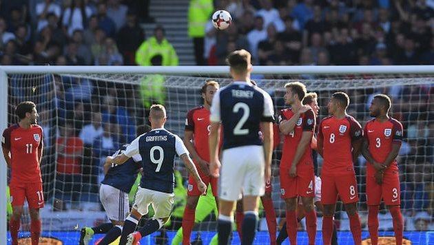 Шотландия и Англия сыграли в результативную ничью