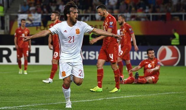 Испания одержала выездную победу над Македонией