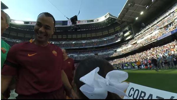 Матч звезд Реала и Ромы глазами Роберто Карлоса