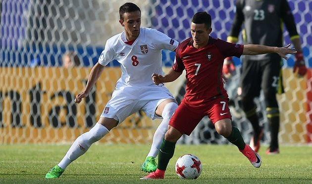 Португалия обыграла Сербию наЕвро-2017 (U-21)
