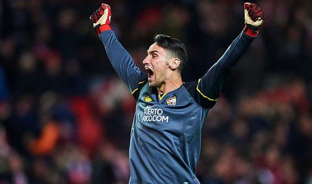Челси готов выложить 26 млн фунтов за вратаря Севильи