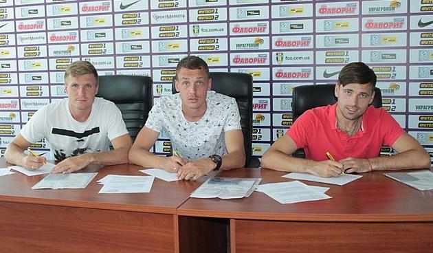 Александрия подписала трех игроков