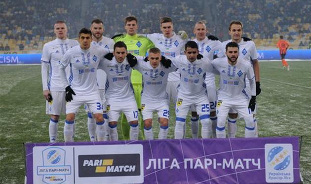 Динамо Киев представило соперников на сборах