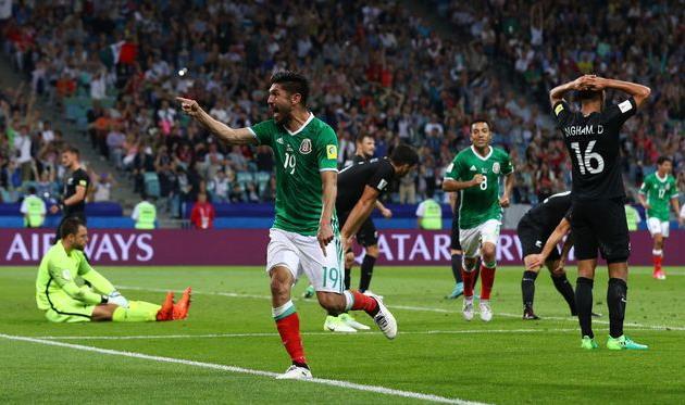 Мексика добыла волевую победу над Новой Зеландией