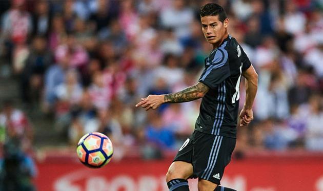 «Милан» неоставляет попыток купить Хамеса Родригеса