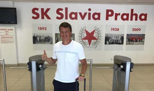Ротань отличился голом вконтрольном матче «Славии»